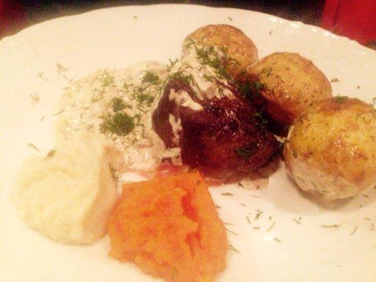 Restauracja U Kucharzy: stek