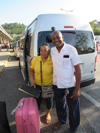 Rocky's Taxi and Tour Services: Rockys Tour in Jamaica! Awesome people & great service! Thank you again Roxroy & Roxanne