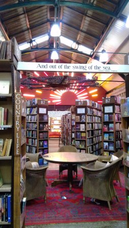 One of the main rooms in Barter Books