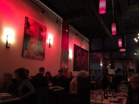 scratch restaurant and rain lounge: Interior