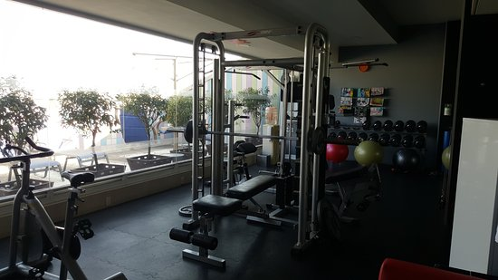 Four Points by Sheraton Mexico City Col. Roma: The gym.