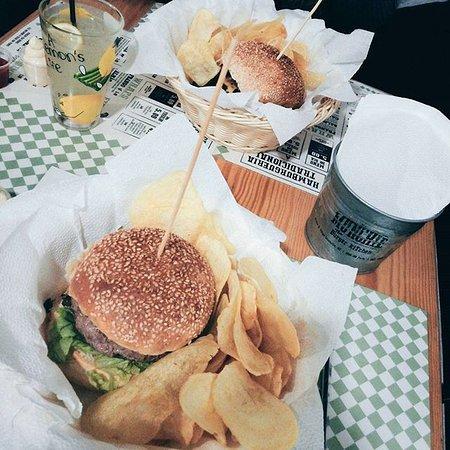 Munchie , The Burger Kitchen: O que jantei.