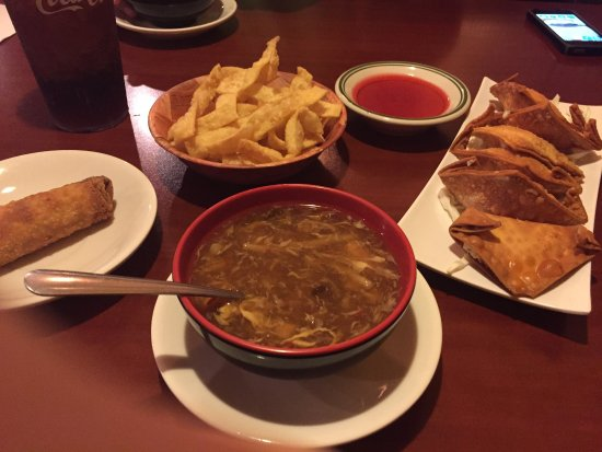Granbury, TX: Appetizers! I forgotten take a pic of my meal because I was too busy eating it!