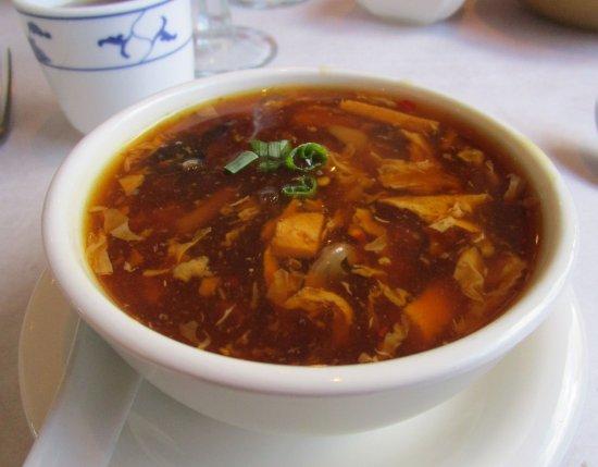 Morristown, Нью-Джерси: Cottage II Hunan & Szechuan - Hot & Sour Soup