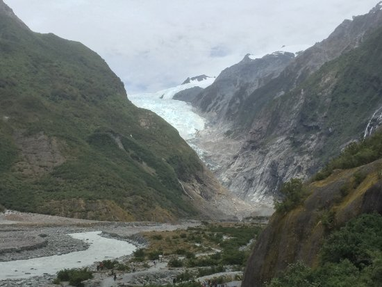 Franz Josef, New Zealand: Majestic view of the Glacier