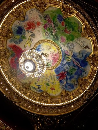 París, Francia: Ceiling by Chagall!