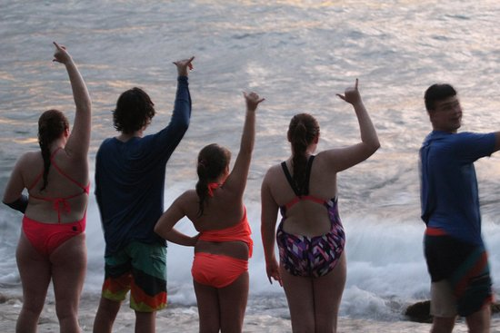 Surf 787: end of day