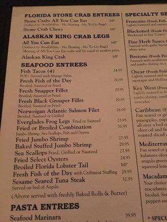 Billy's Stone Crab : photo4.jpg