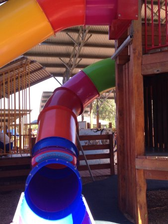 Mooroopna, Australia: One of the many slides you can enjoy on your visit to kidstown