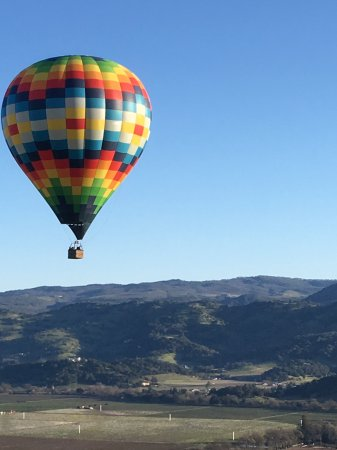 Balloons Above the Valley: Beautiful view
