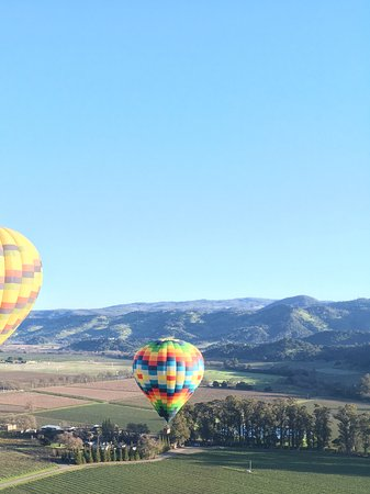 Balloons Above the Valley: Gorgeous