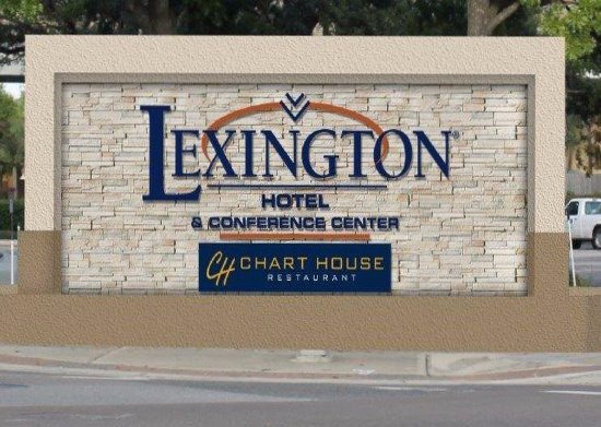 Lexington Hotel & Conference Center - Jacksonville Riverwalk: Front Sign