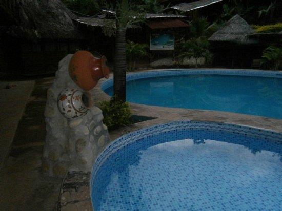 Foto de madera labrada tarapoto piscina tripadvisor for Piscina sauces 6