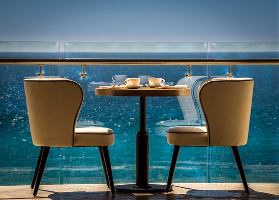 Paradisus Los Cabos: Royal Service upper floor breakfast restaurant