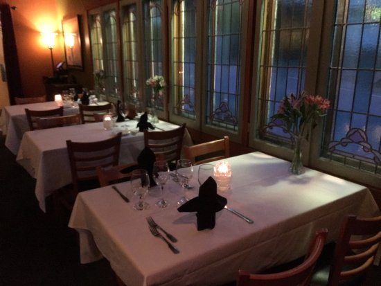 The Oyster Thistle Restaurant And Pub Romantic Dining Room