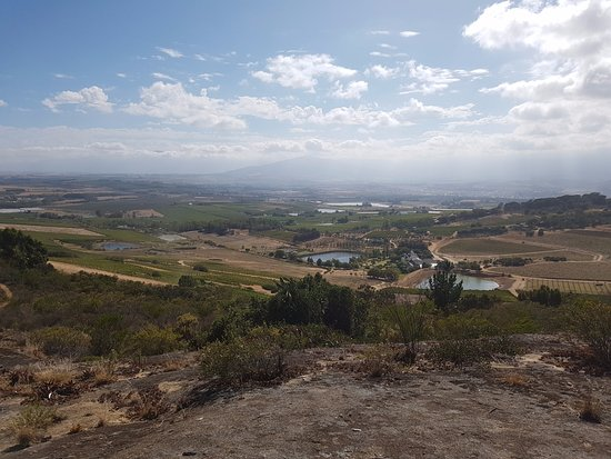 Paarl, Sudáfrica: Almost at the top!