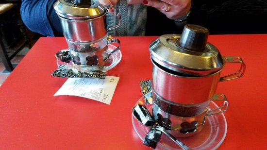 Hotel Rubens : onze 2 koffietjes