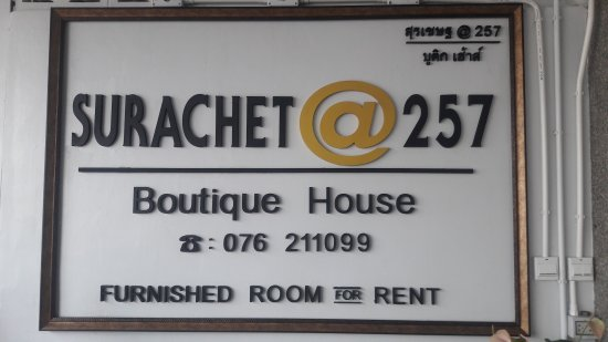 Surachet at 257 Boutique House