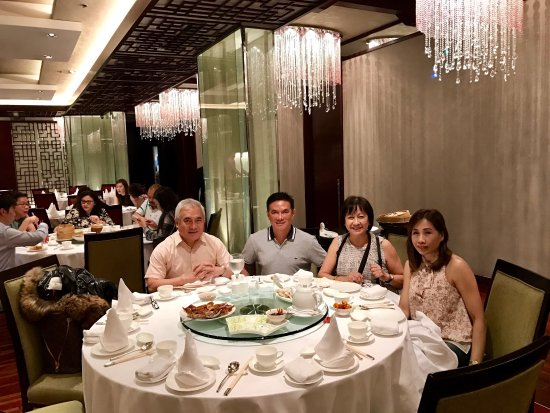 At Shang Palace and our Peking Duck