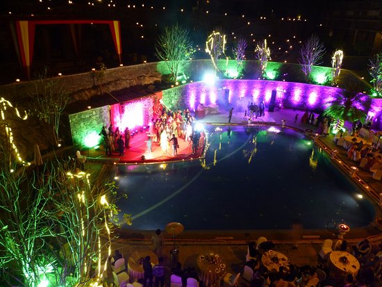 A wedding at the Ramada