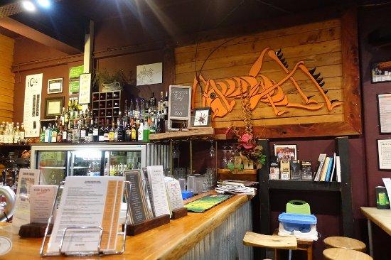 The Thirsty Weta: Стойка бара