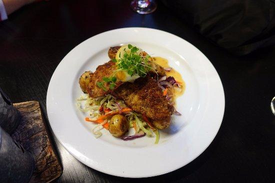 The Thirsty Weta: Основное блюдо: рыба с овощами