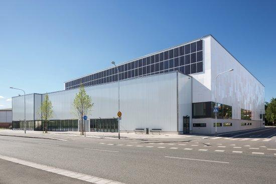 Uppsala, Sverige: Multihallen för idrott, event, konferens och kongress
