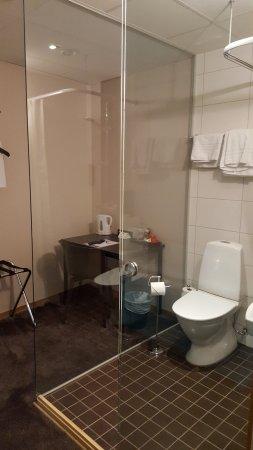 Sure Hotel By Best Western Savoy Karlstad : Kabinrummet sett från dörren