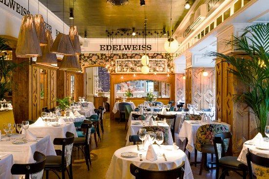 Edelweiss madrid centro restaurant avis num ro de for Restaurante la mucca madrid calle prado