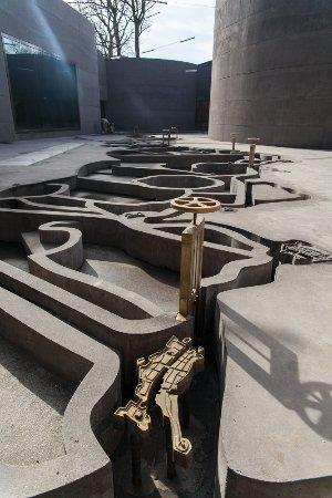 Bunnik, The Netherlands: Draai zelf de sluizen open op onze maquette van de Nieuwe Hollandse Waterlinie