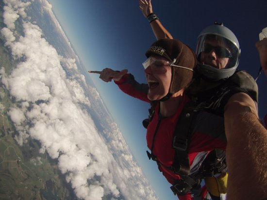 Kerikeri, New Zealand: hitting terminal velocity was the most thrilling moment of my life