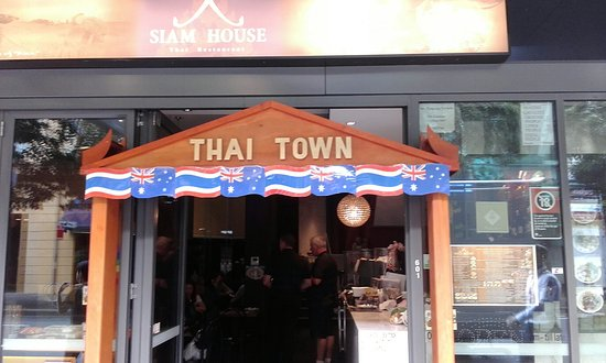 Siam House Thai Town Entrance Picture Of Sydney