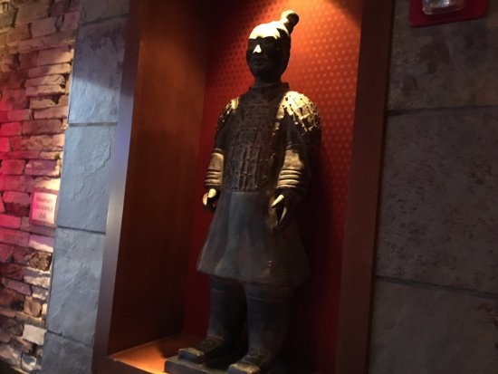 Victor, Nowy Jork: PF Chang's - decorations in foyer