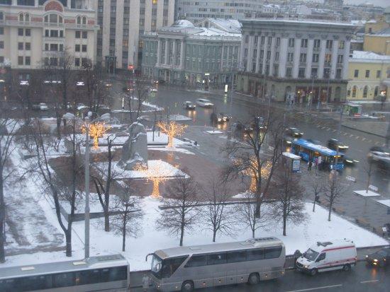 Гостиница Метрополь Москва: View from bedroom 5529
