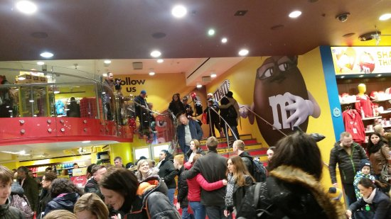 M&M's World: store