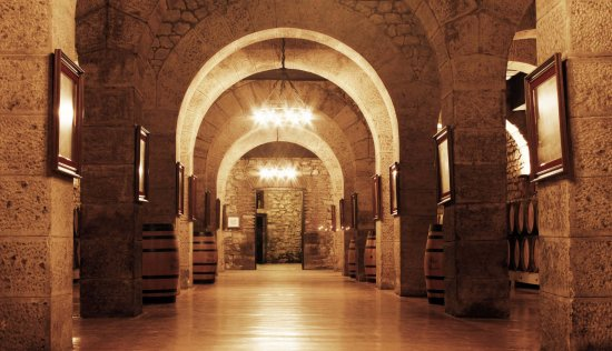 Bodegas Franco Españolas: Sala de los Arcos