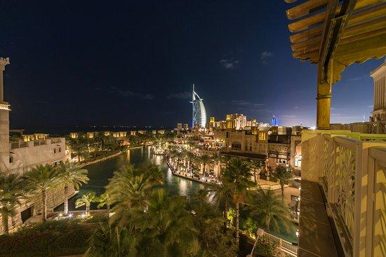 Jumeirah Al Qasr at Madinat Jumeirah : Night View from room 544