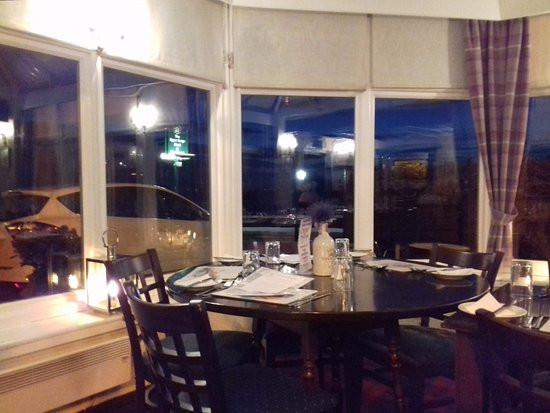 Largo, UK: Conservatory dining