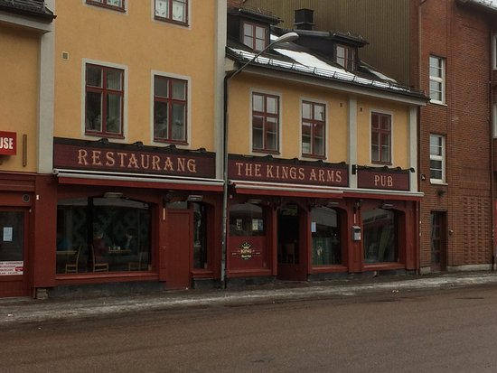 The Kings Arms i Falun.