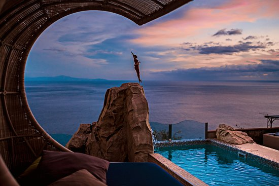 Hotel Margherita: Pool terrace