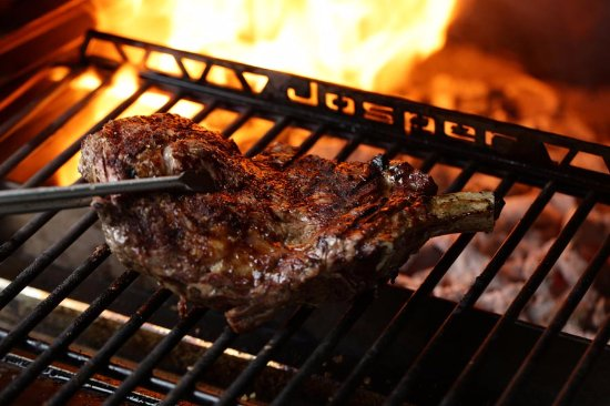 Rodeo Grill: Our signature Josper wood-fired oven