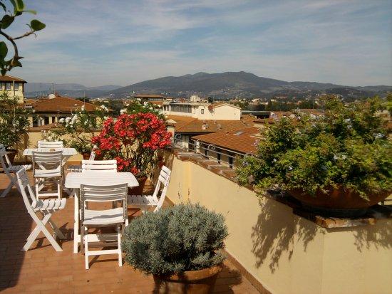 Hotel Bijou: www.hotel-bijou.it - Terrazza panoramica sul tetto - Panoramic rooftop terrace