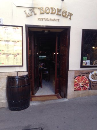 La Bodega Restaurants: Find it & enjoy Andalusian hospitality & good food!