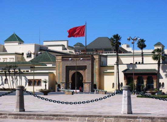 Royal Palace of Rabat: Вид на дворец премьер-министра Марокко