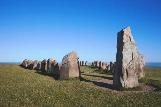 Ales Stenar, das Stonehenge von Schweden. Foto: Conny Fridh/imagebank.sweden.se