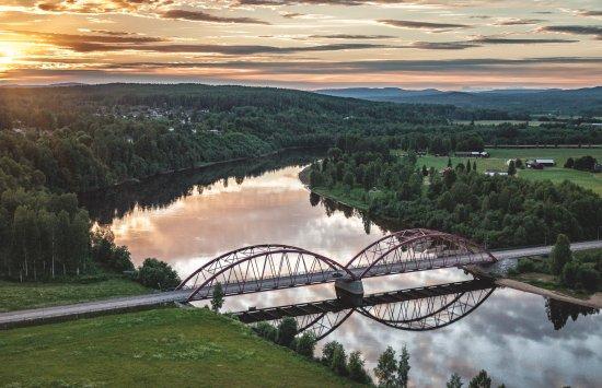Schweden: Der Klarälven ist der längste Fluss in Skandinavien. Foto: Per Pixel Petersen/imagebank.sweden.s