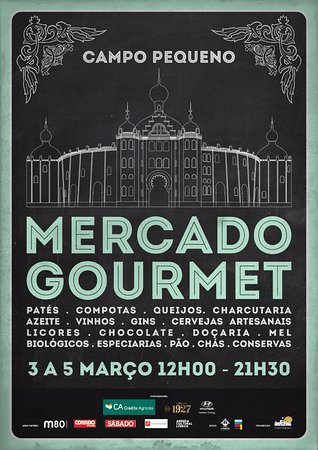 Campo Pequeno: Mercado Gourmet, de 3 a 5 de Março 2017
