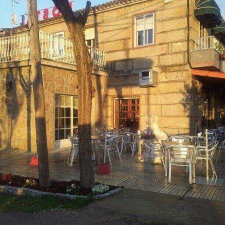 Restaurante Cobas: terraza exterior