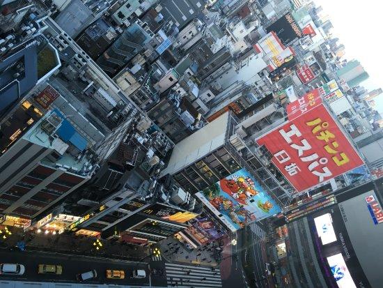 Shinjuku Prince Hotel: amazing view