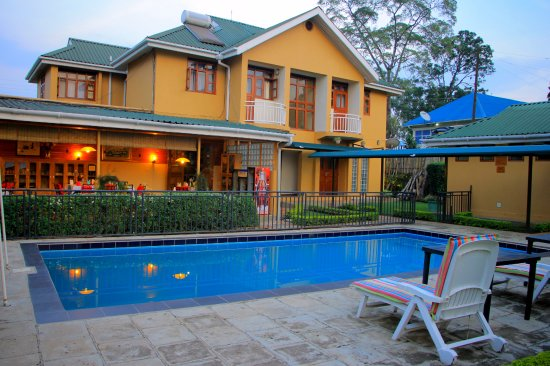 Pool - Picture of Fort Motel, Fort Portal - Tripadvisor